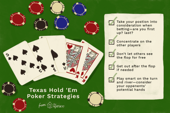 Web Poker tips