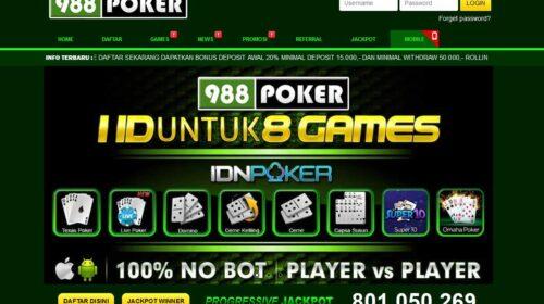 Online IDN poker site